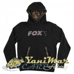 Fox Black/Camo Print Hoody
