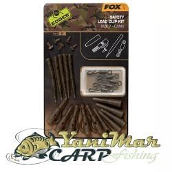 Fox Edges Camo Safety Lead Clip Kit 7