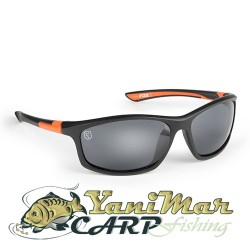 Fox Sunglasses Black Orange/Grey Lens