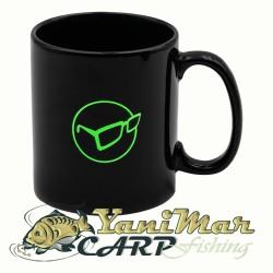 Korda Mug Glasses Logo Black