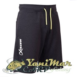 Matrix Minimal Black Jogger Shorts