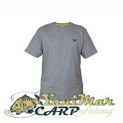 Matrix Minimal Light Grey Marl T-Shirt