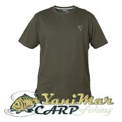 Fox Coll Green Silver T- Shirt
