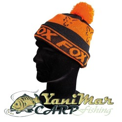 Fox Black / Orange Lined Bobble