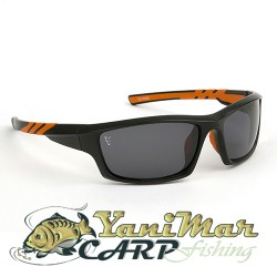 Fox Sunglasses Black/orange grey lense