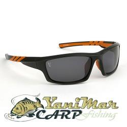 Fox Sunglasses Black/orange grey lense