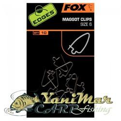 Edges Maggot clips sz 6 x 10