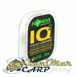 Korda IQ2 Extra Soft Fluorocarbon Hooklink 2