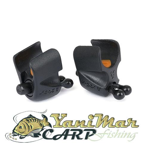 Fox Black Label Adjustable Rod Clip - 2 Pack