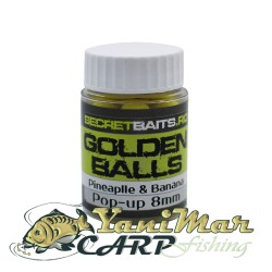 Pop up boilies Pineapple and banana 8mm