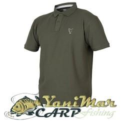 Fox Coll Green Silver Polo Shirt