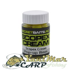 Pop up boilies Scopex Cream 8mm