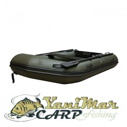 Fox  Camo Inflatable Boat 2.9m Air Deck Black